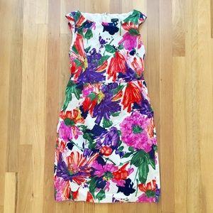 J.Crew Cora Summer Floral Dress